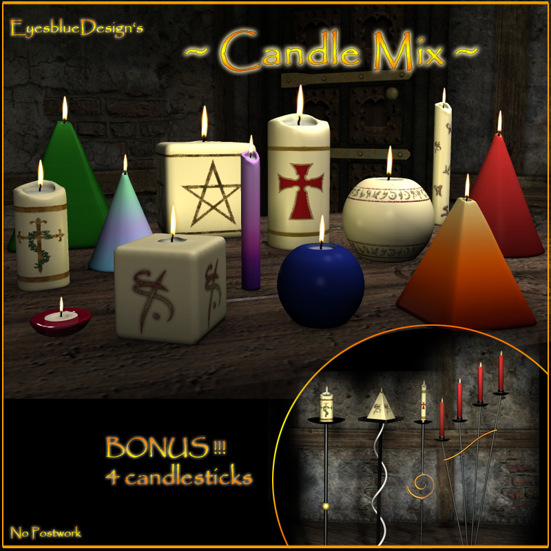 EyesblueDesign's Candle Mix
