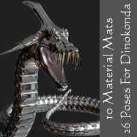 10 Materials N 26 Poses for Dinokonda  WhopperNnoonWalker-
