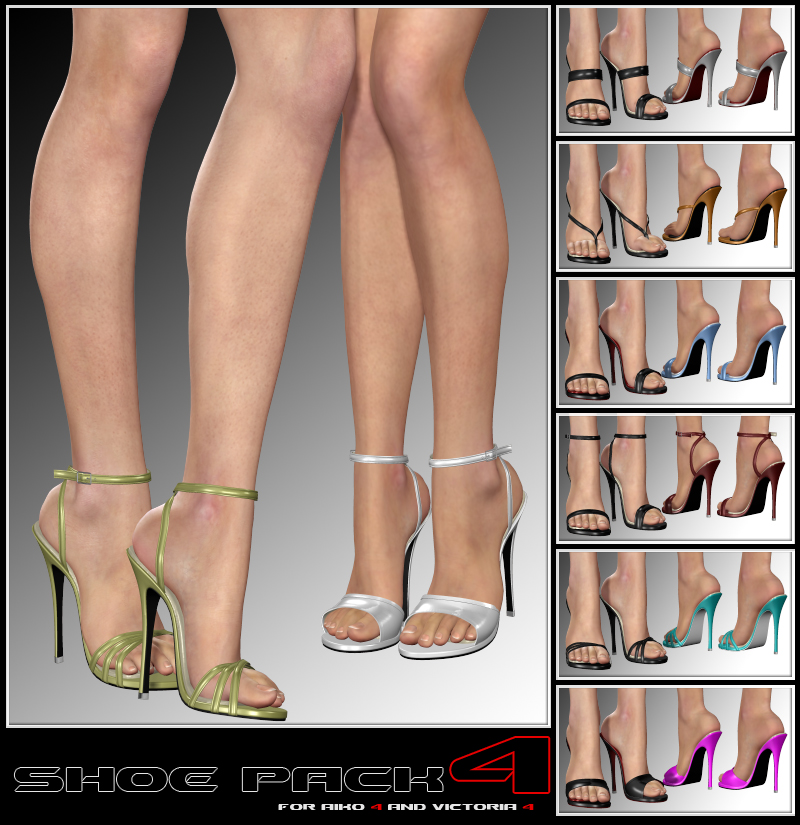 Shoe Pack4 for V4/A4