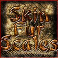Skin Fur & Scale Brushes 2D And/Or Merchant Resources Themed mystikel