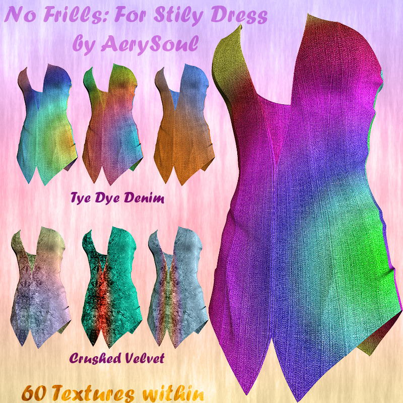 No Frills: For Stily Dress - 60 textures