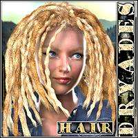 Dryades Hair 3D Figure Essentials Mairy