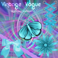 Vintage Vogue - L2 fabric resource #1  hotlilme74