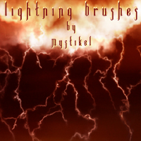 Lightning Brushes 2D Graphics 3D Models mystikel