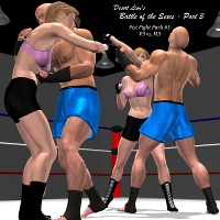 Battle of the Sexes Part 3 - M3/V3 Edition 3D Figure Essentials Desert_Lion