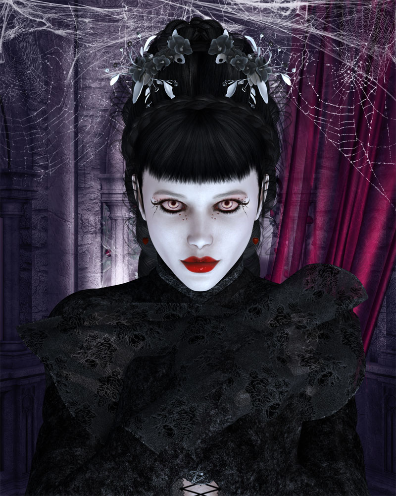 Fantasy Art Creation Kit 2 - Gothic Fantasy