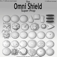 Omni Shield Super Prop Themed Props/Scenes/Architecture Poisen