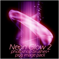 Neon Glow 2 3D Models 2D Graphics patslash