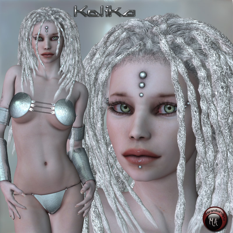 Kolika - Character and outfit for V4