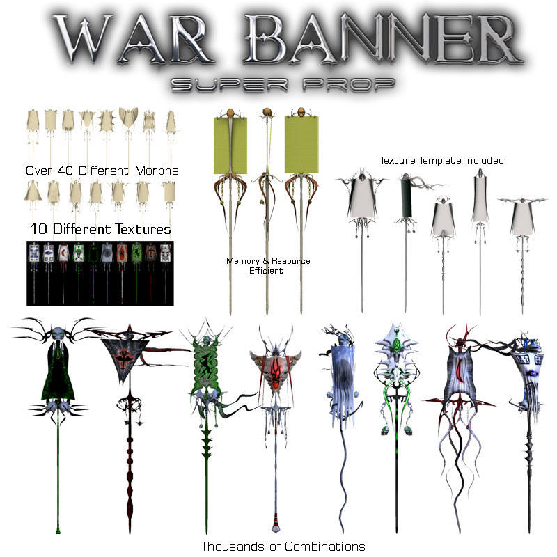War Banner Super Prop