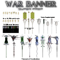 War Banner Super Prop Themed Props/Scenes/Architecture Poisen