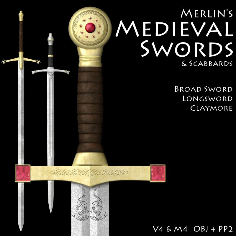 Merlin's Medieval Swords