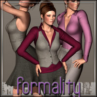 HIGHFASHION: Formality for V4 3D Figure Assets outoftouch