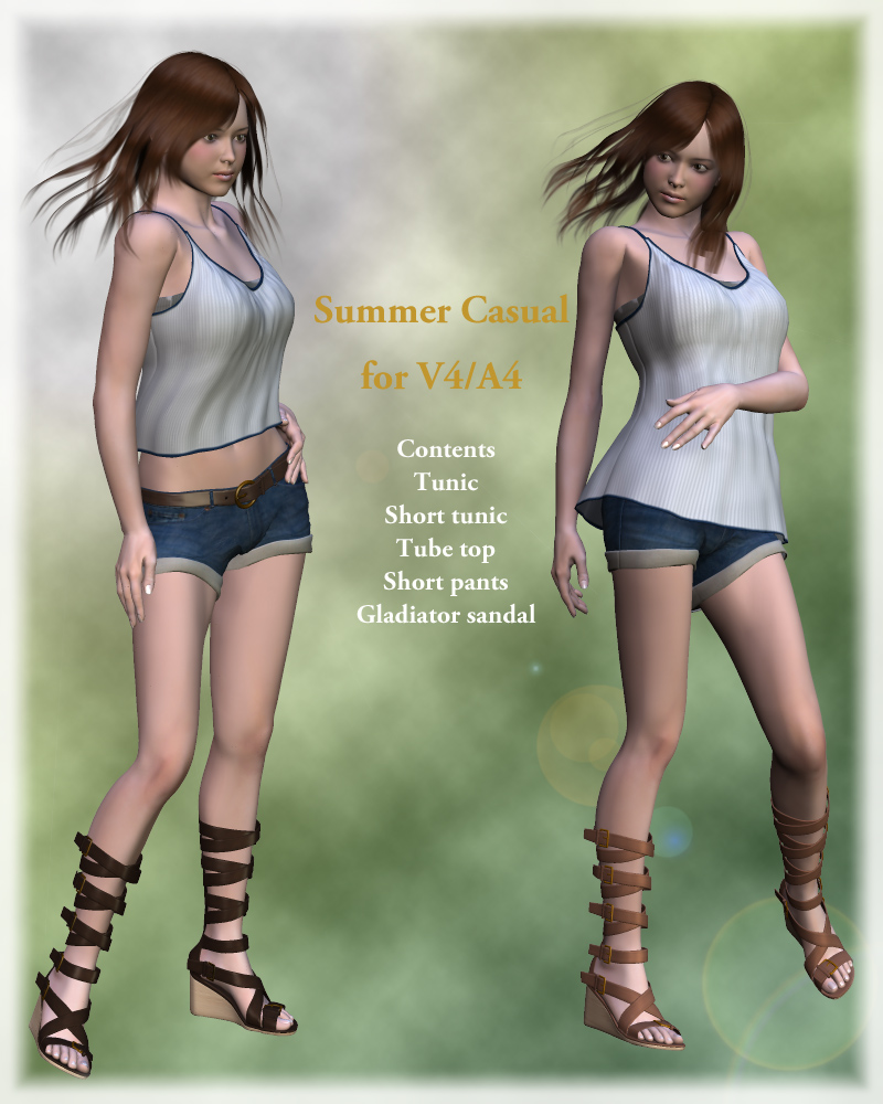 Summer casual for V4/A4