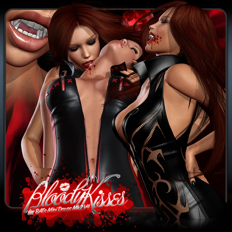 Bloody Kisses for BAT's Mini Dress Mk2 V4