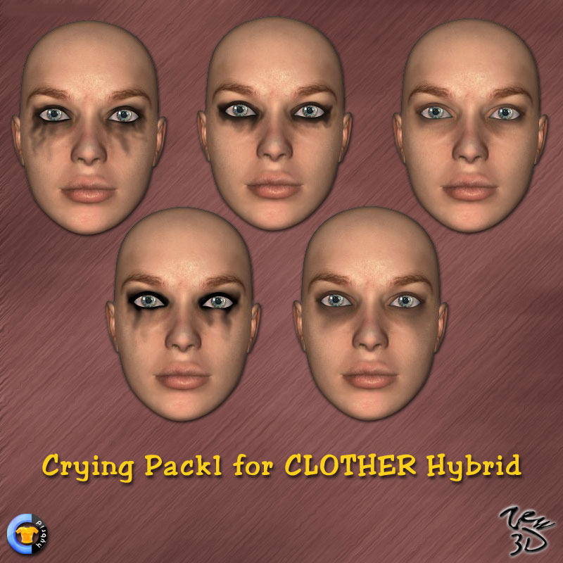 Crying Pack1 for CLOTHER Hybrid