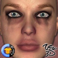 Crying Pack1 for CLOTHER Hybrid  zew3d