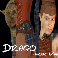 Drago Outfit for V4  zachary