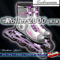 Roller2000 (R2K) 3D Figure Essentials 2Mylent