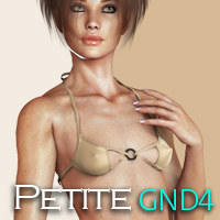 Natural Petite Morphs for GND4 3D Figure Assets Posermatic