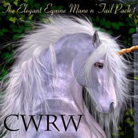 CWRW The Elegant Equine Mane 'N Tail Pack 1 2D 3D Models cwrw