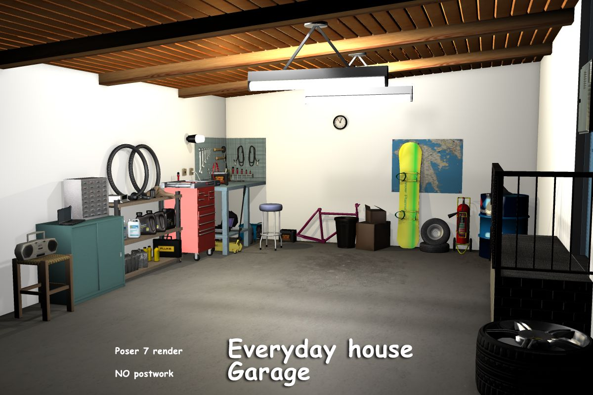 Everyday house - Garage