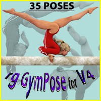 rg GymPoseT1 for V4 3D Figure Assets roogna