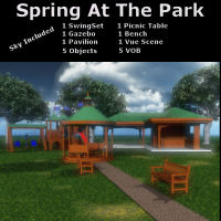 Spring At The Park 3D Models BrokenWings