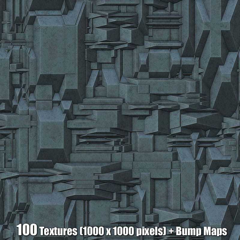 Sci-Fi Texture Collection 2