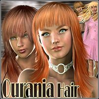 Ourania Hair 3D Figure Essentials Mairy