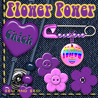 Sew and Sew Flower Power  macatelier