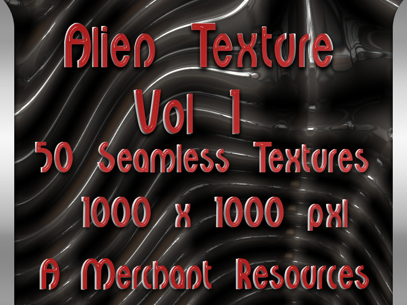 WD Alien texture vol1