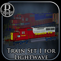 Train Set 1 for Ligtwave Themed Transportation RPublishing