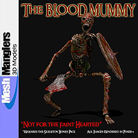 The Blood Mummy 3D Models keppel