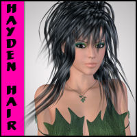Hayden Hair V4 3D Figure Essentials Propschick