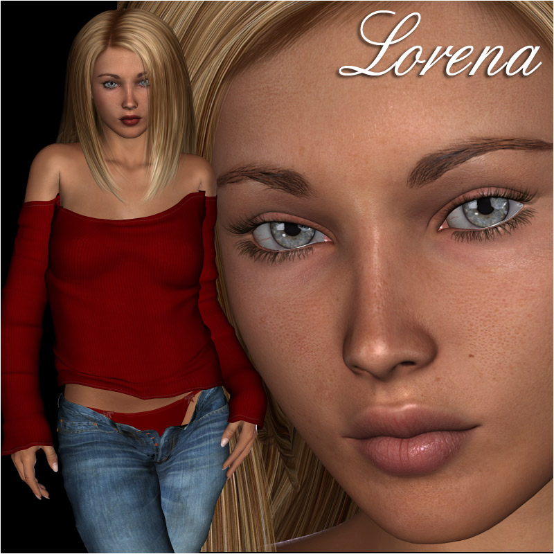 Lorena Character & Sweater for V4