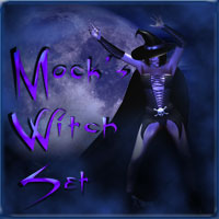 Mock's Witch Set  Mock