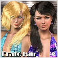 Erato Hair 3D Figure Essentials Mairy