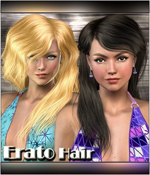Erato Hair 3D Figure Assets Mairy