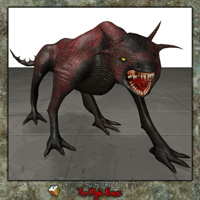 Monster Night Beast 3D Models Simon-3D
