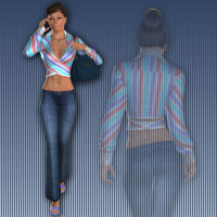 Walking V4 3D Figure Essentials 2D wenke