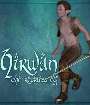 Hirwan the reckless elf 3D Figure Assets Tipol