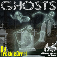 Trekkie's Ghosts 2D Graphics 3D Models TrekkieGrrrl