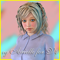 rg Arielle for V4 3D Figure Essentials roogna