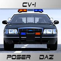 CV-1 for Poser and Daz  3D Models lwanmtr