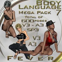 Body Language 7 - Fever - Mega Pack  ilona