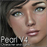 Pearl V4 3D Figure Assets 3Dream