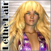 Lethe Hair 3D Figure Essentials Mairy