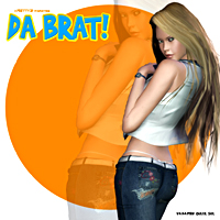 Da Brat! 3D Models 3D Figure Essentials Pretty3D
