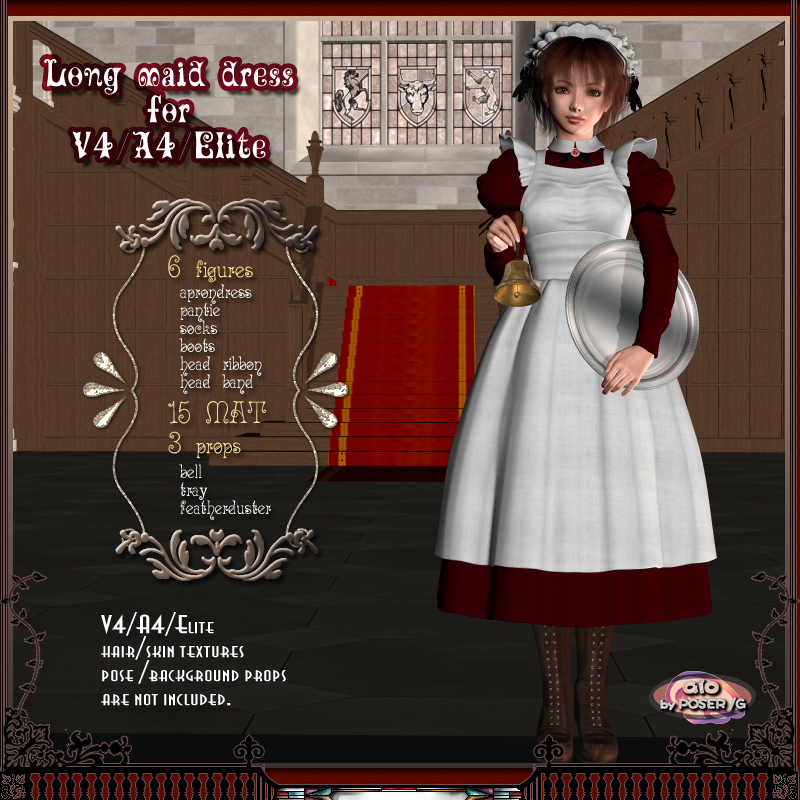 LongMaidDress for V4/A4/Elite